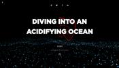 海中における二酸化炭素などの含有量の変化を WebGL で表現した Diving into an Acidifying Ocean