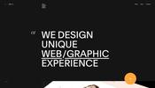 複数の効果を組み合わせて演出することで劇的に質感や手触りを向上させた Obys Agency のウェブサイト