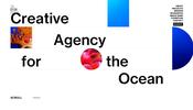 SVG も活用しつつピンポイントでインパクトの強い WebGL 演出を盛り込んだ The Ocean Agency のウェブサイト