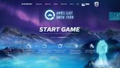雪山を颯爽と滑りゴールを目指す WebGL 製のゲームがなかなかの完成度! ワールドランキングも開催中!