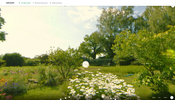 まるでイラストがそのまま立体化したかのような 3D ビューが面白い Weleda Open Garden のウェブサイト