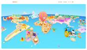 モバイルゲーム開発を行う Madbox のウェブサイトはゲームの中の世界のように遊び心満点!