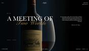 シェーダを使ったディストーションエフェクトがおもしろい Rupert & Rothschild のウェブサイト