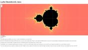 マップ表示用のライブラリ Leaflet を活用した WebGL デモ! マンデルブロ集合をスムーズにズームアップ