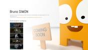 美しいデモやサイト背景に様々なこだわりを感じることができる Bruno Simon 氏の個人サイト