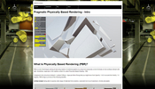 WebGL による physically based rendering(PBR) チュートリアルのイントロ記事! 今後に期待高まる!