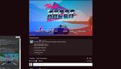 警察から逃げきれるか! どこかレトロな風合いの WebGL 製レースゲーム Thug Racer!