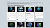 グローブデモを中心に大量の作品を公開している Callum's Sandbox が面白い!