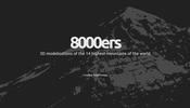 世界の名峰を心ゆくまで堪能できる!? 世界中の最高峰の山々を WebGL で立体化した 8000ers