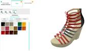 自由に靴の素材を組み合わせ! カスタマイズ可能な WebGL 製オンライン注文システムがすごい!