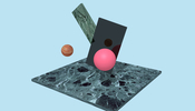 音と材質、その組み合わせで見せる新感覚デジタルアート Fragments in Space が面白い!