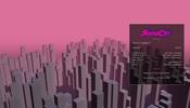 キューブだけを利用した高層ビル街のようなシンプルなサウンドビジュアライザ SoundCity