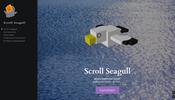スクロールだけで楽しめる Global Game Jam で制作された Grimoire.js 製のミニゲーム Scroll Seagull!
