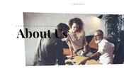 静かな BGM にもマッチした異なるブランド製品をまとめて扱う総合ファッション企業のウェブサイト