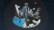 飛行船から眺める景色はどう? Ronik Design の 2017 アニバーサリーサイトの WebGL 遊覧飛行