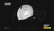 スキー用のヘルメットを作るメーカーのサイトにある製品をあらゆる角度からじっくり眺められる WebGL 製ビューア