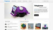3D プリント用のデータを共有する Thingiverse に見るちょっと面白い WebGL 活用法