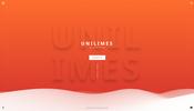 センス溢れる繊細なグラデーションが見事! 3D デザインスタジオ UNILIMES のウェブサイト