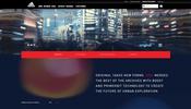 スクロール連動型のまるで炎が揺らぐような演出が面白い adidas UK の WebGL 実装サイト!
