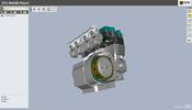 独自開発の軽量な CAD データ XVL 形式のファイルを WebGL で表示する XVL Web3D Player