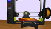 3D プリンターを WebGL の 3D で描画!? 3D を 3D で表現する面白い WebVR コンテンツ